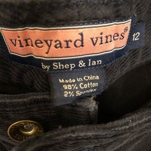 Vineyard Vines ladies blue corduroy pants